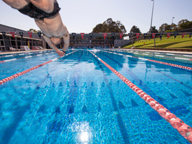 Macquarie University pool
